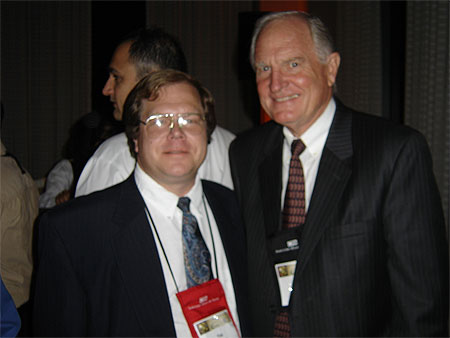 Craig Barrett, MITSG, LLC Owner Tim Ulmen and Intel Corp., former CEO & Chairman of the Board